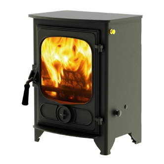 Charnwood Country 4 Black Multi Fuel Stove