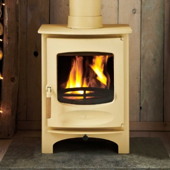 Charnwood C Six Almond Wood Burning Stove