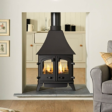 Yeoman Devon Double Sided Gas Stove