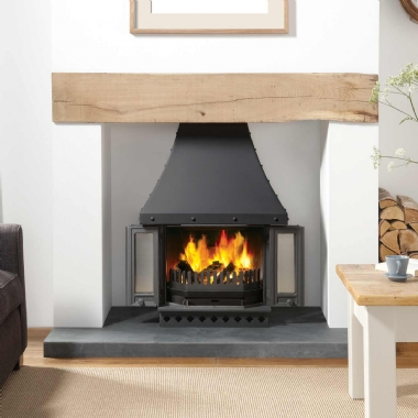 Dovre 1800 Multifuel and Woodburning Inset Fireplace Stove