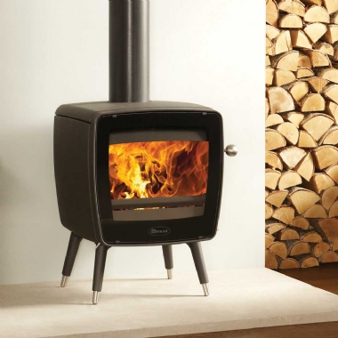 Dovre Vintage 35 Woodburning Stove Legs Model