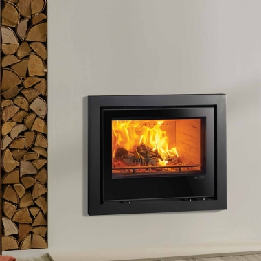 Stovax Elise 850 Glass Front Wood Burning Stove Fire