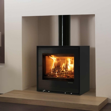 Stovax Elise 540 Glass Multi Fuel Wood Burning Freestanding Stove