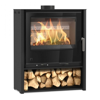 Arada Aarrow i600 Mid Freestanding Stove Glass Door mk2