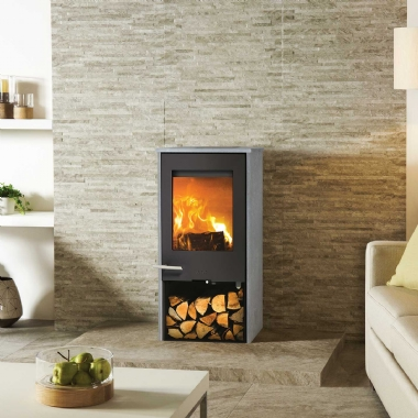Lotus Mondo 1 Soapstone Wood Burning Stove