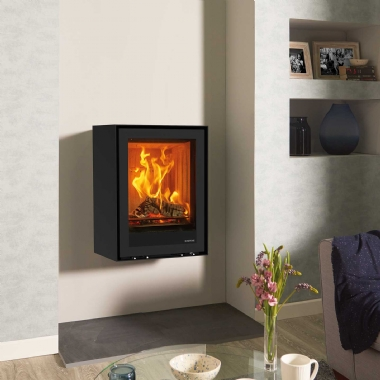 Stovax Elise 540T Wall Mounted Steel fronted Stove