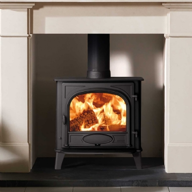 Stovax Stockton 5 Wide Single Door Wood Burning Stove