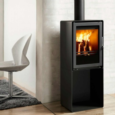 Westfire Uniq 35 Pedestal Multifuel and Woodburning Stove