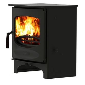 Charnwood C-Five Black Multi Fuel Stove