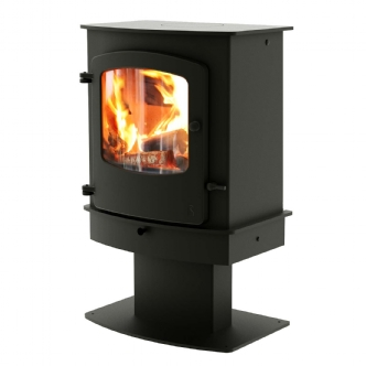 Charnwood Cove 2 Centre Stand Multi Fuel Wood Burning Stove