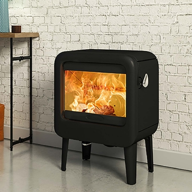 Dovre Rock 350 Woodburning Stove on Legs