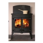 Charnwood Island 2CT Cook Top Multi Fuel Stove