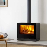 Stovax Elise 680 Glass Fronted Freestanding Stove