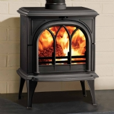 Stovax Huntingdon 35 Tracery Door Multi Fuel Stove