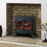 Yeoman Dartmoor Double Door Electric Stove
