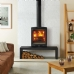 Stovax Vogue Wood Burning Stove Riva Bench