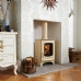 Charnwood C Eight Almond Multi Fuel Stove