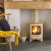 Charnwood C-Four Almond Multi Fuel Stove