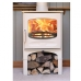 Charnwood C-Five Store Stand Almond Multi Fuel Stove