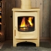 Charnwood C Six Almond Multi Fuel Stove