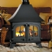 Yeoman County Double Sided Stove