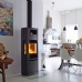 Scan 65-6 Wood Burning Stove with Baking Oven