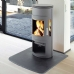 Westfire Uniq 16 Woodburning Grey Stove