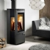 Westfire Uniq 33 Side Glass Woodburning Stove