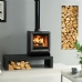 Stovax View 5 Mk3 Stove on Riva Bench