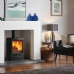 Stovax Vogue Midi Stove on Plinth Base