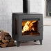 Westfire Uniq 23 Side Glass Woodburning Stove