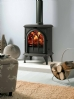 Stovax Huntingdon 28 Cast Iron Clear Door Stove