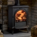 Stovax Huntingdon 28 Clear Door Multi Fuel Stove