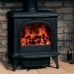 Stovax Huntingdon 30 Clear Door Multi Fuel Stove