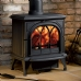 Stovax Huntingdon 30 Tracery Door Multi Fuel Stove