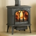 Stovax Huntingdon 40 Tracery Door Multi Fuel Stove