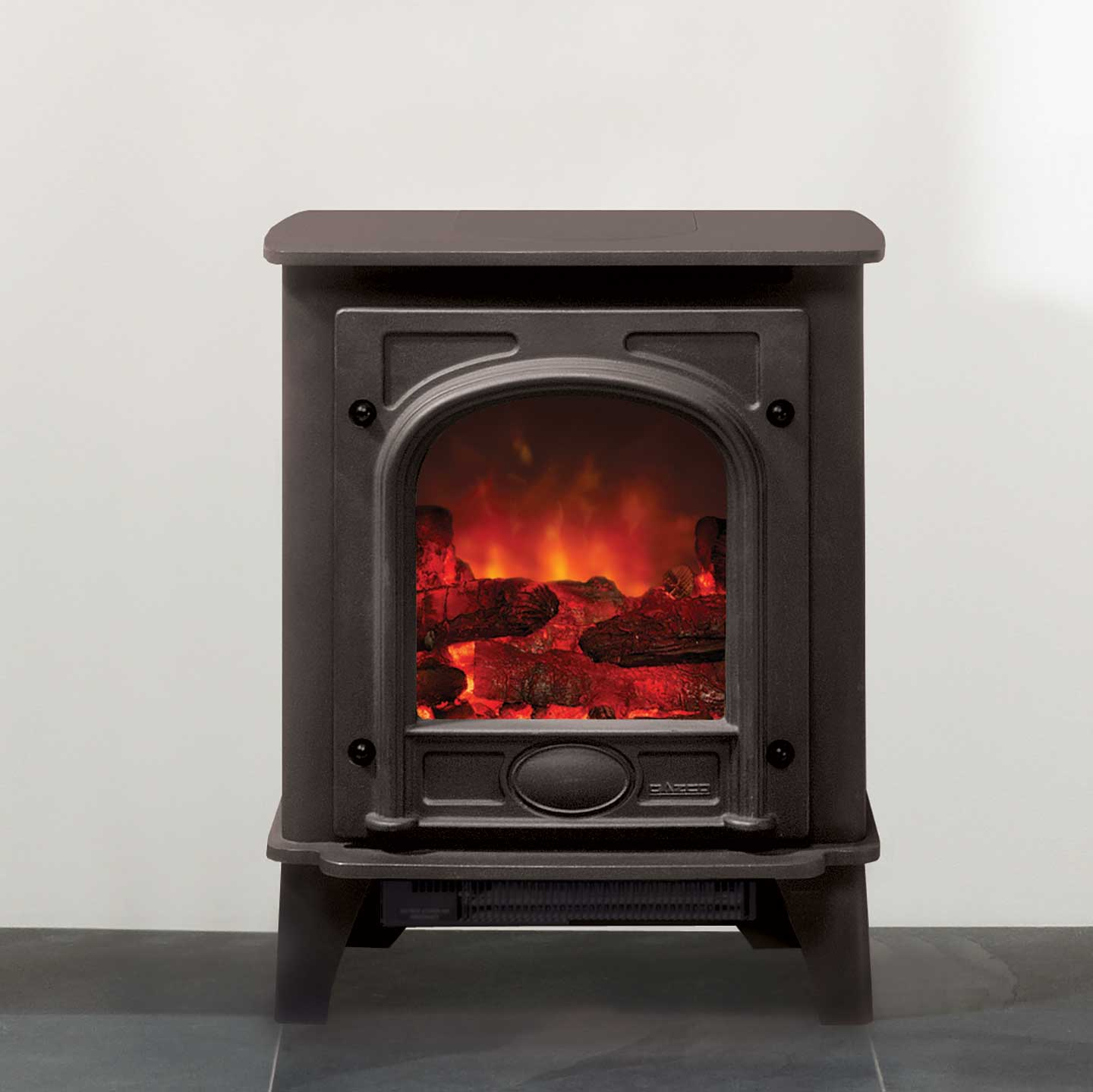 Gazco Small Stockton Electric Stove The Stove Site