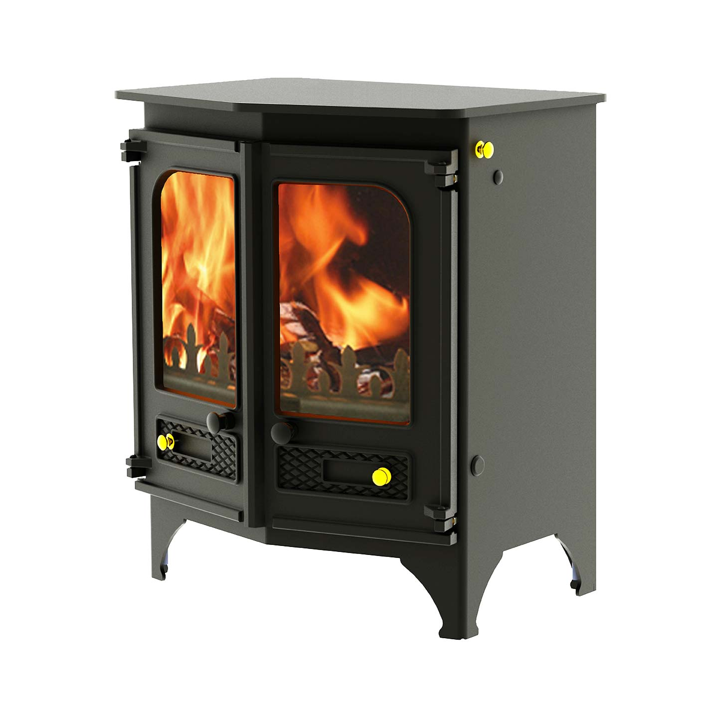 Charnwood Country 6 Multi Fuel Stove The Stove Site