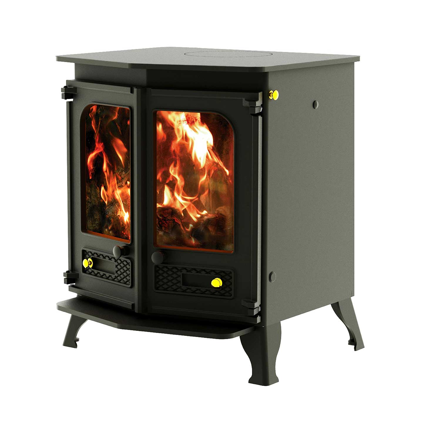 charnwood country 8 multi fuel 8kw stove the stove site. Black Bedroom Furniture Sets. Home Design Ideas