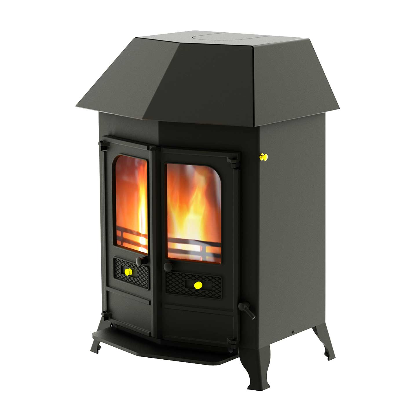Charnwood Country 16B Wood Burning Boiler Stove Approved