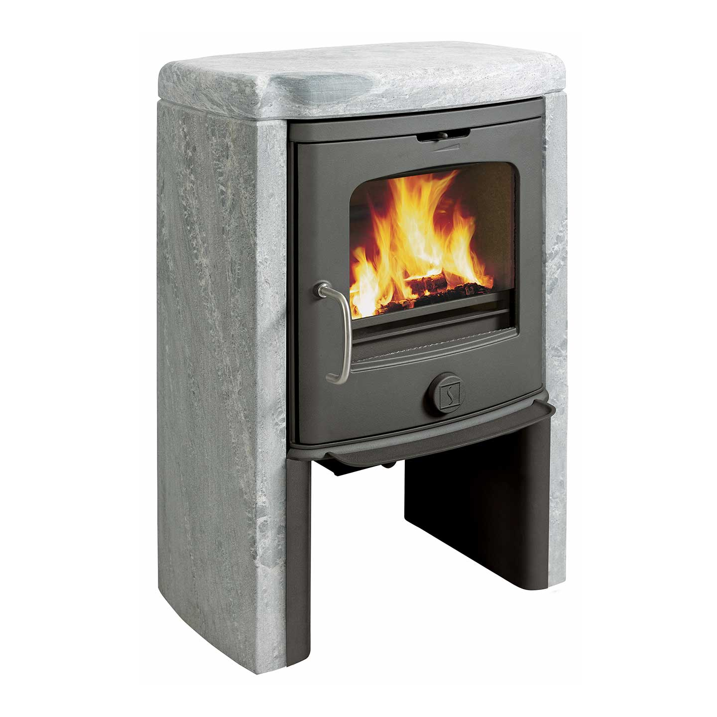 Scan Anderson 4-5 Multi Fuel & Wood Burning Soapstone