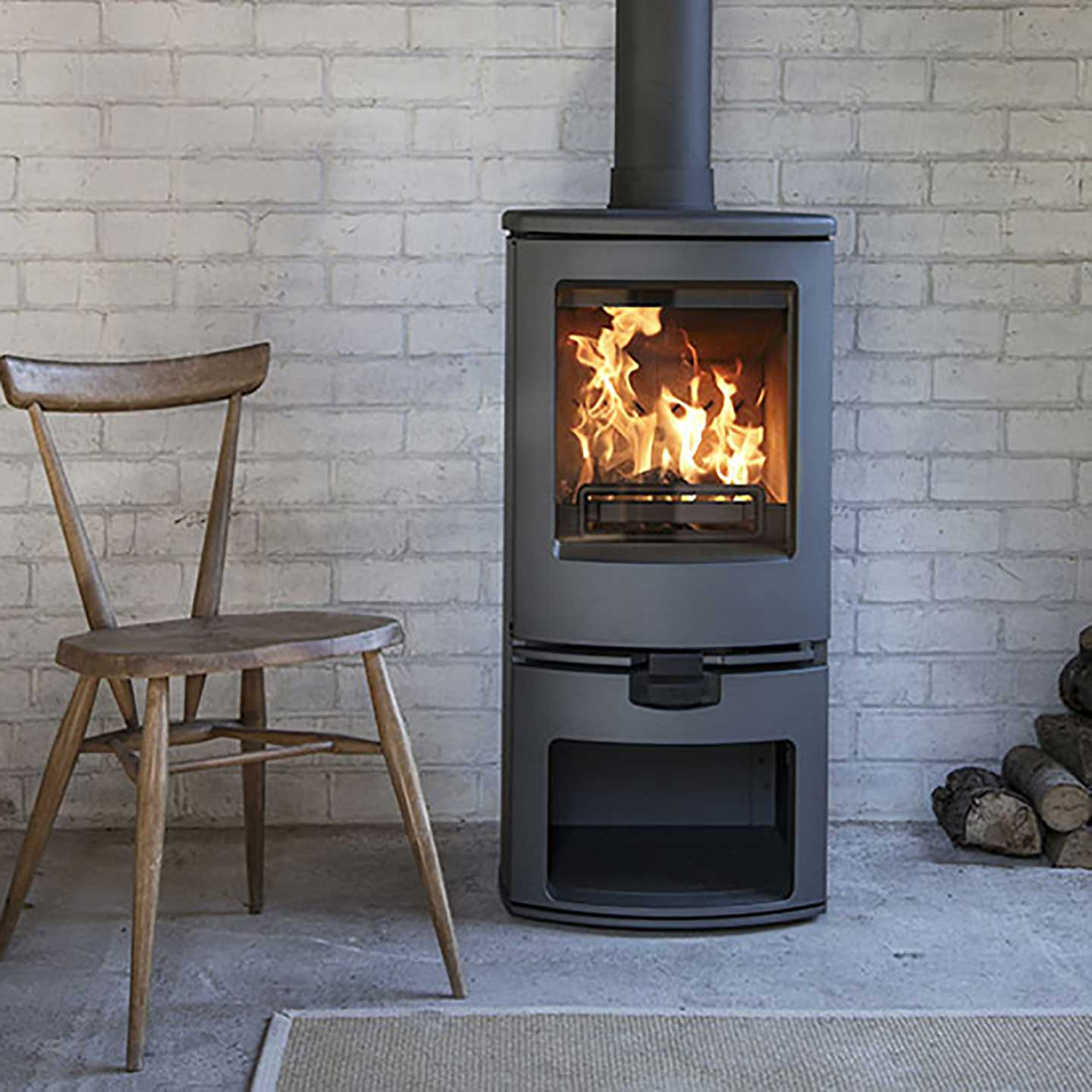 Charnwood Arc 5 Store Stand Multi Fuel Stove Approved