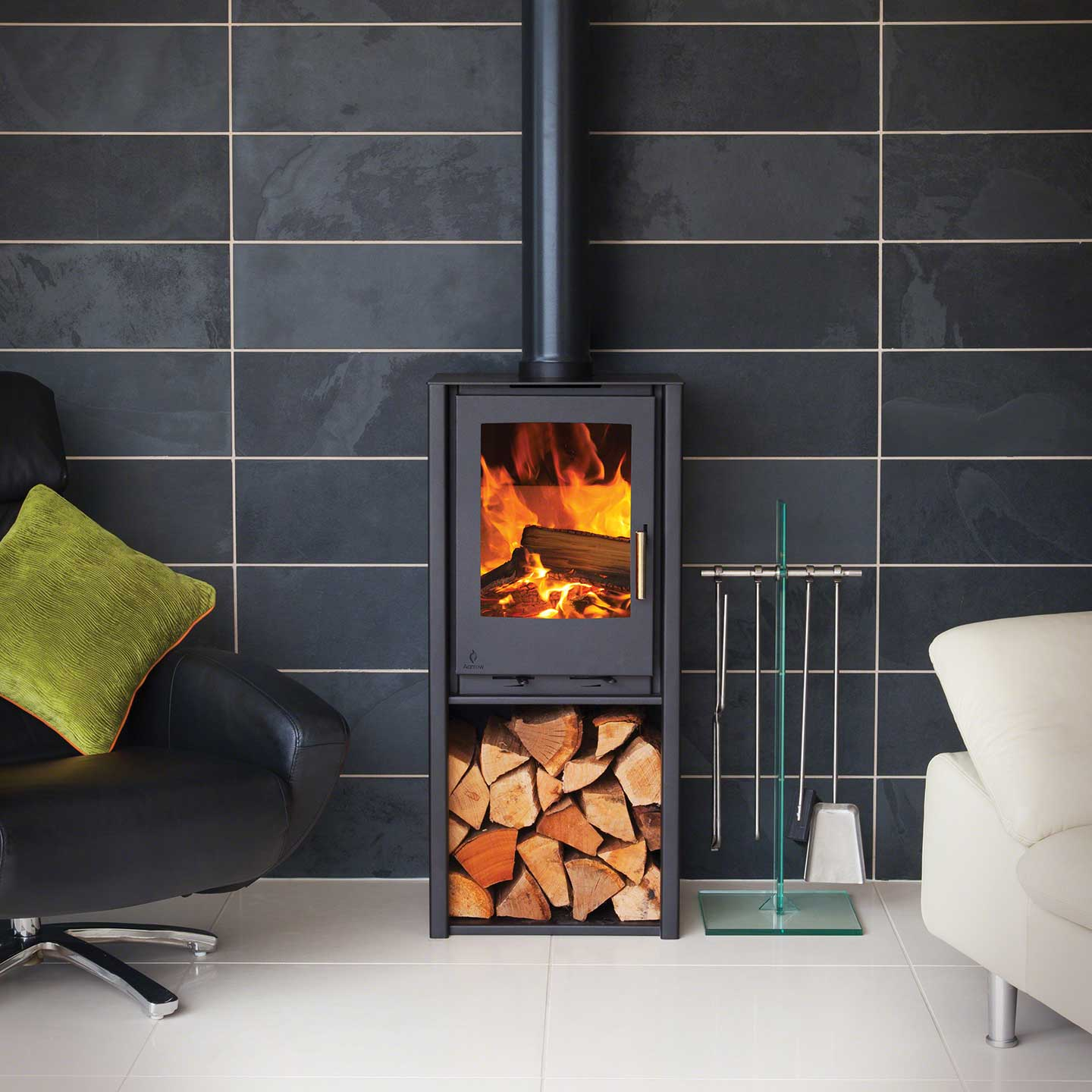 Aarrow i400 Tall Freestanding Stove - The Stove Site - Approved ...