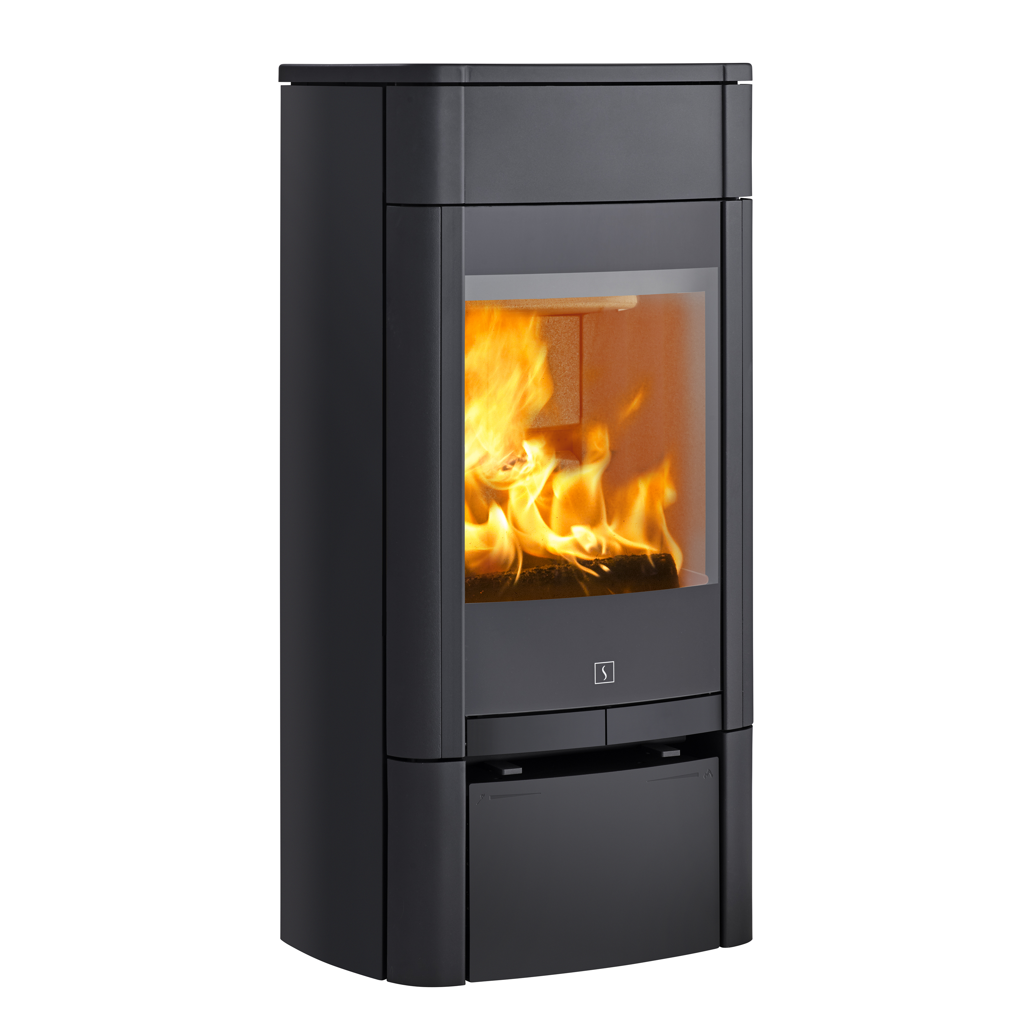 scan 65 1 low base wood burning defra approved stove approved rh thestovesite co uk Best Cleaner for Glass Fireplace Doors Fireplace Cover Doors