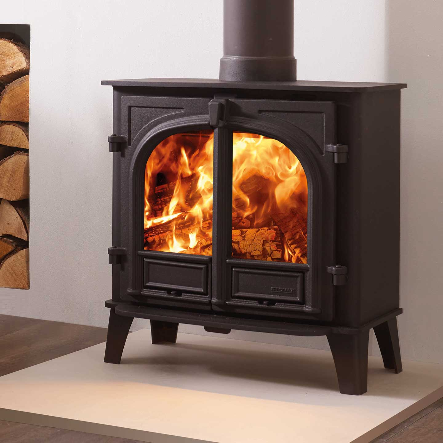 Stovax Stockton 5 Wide Multi Fuel Stove - The Stove Site ...