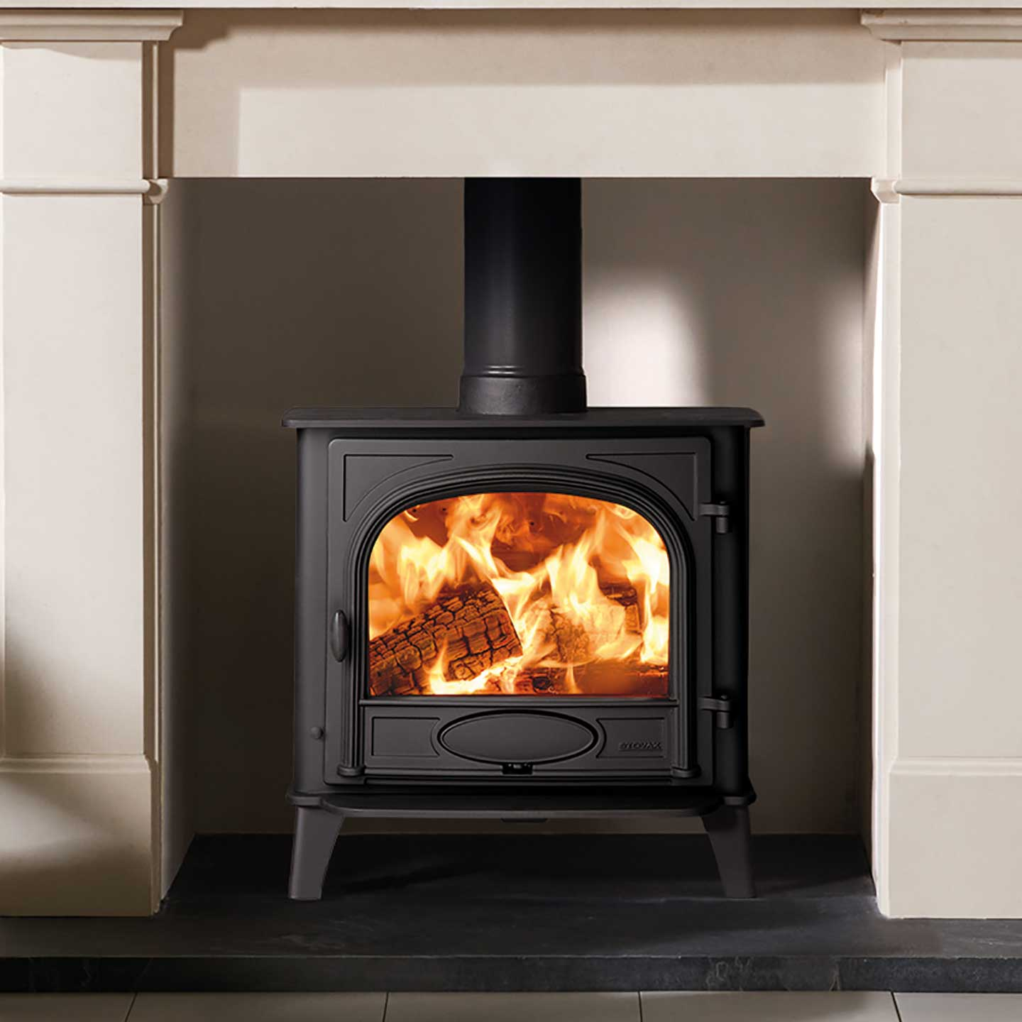 Stovax Stockton 5 Wide Wood Burning Stove The Stove Site