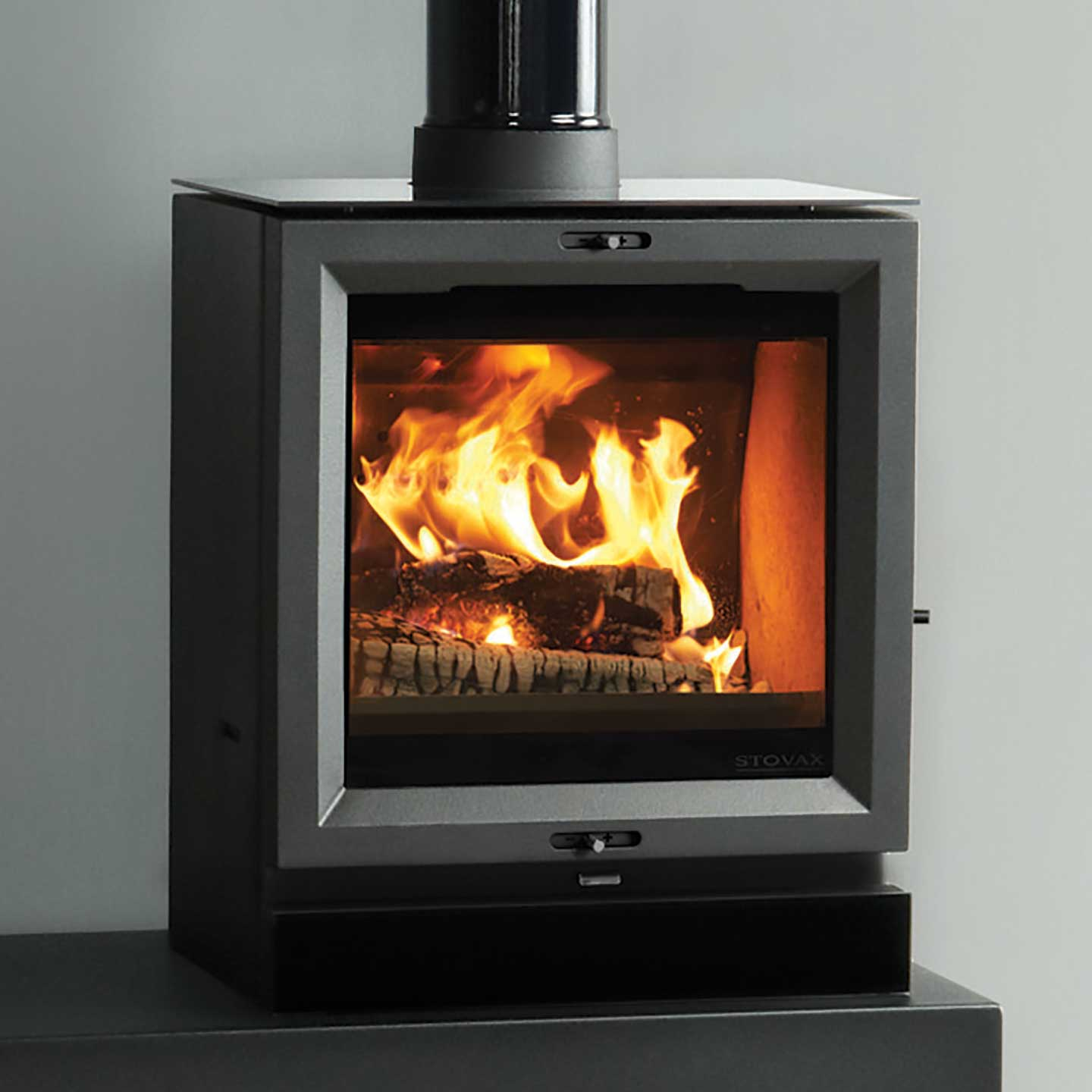 stovax view 5 multi fuel stove the stove site approved. Black Bedroom Furniture Sets. Home Design Ideas