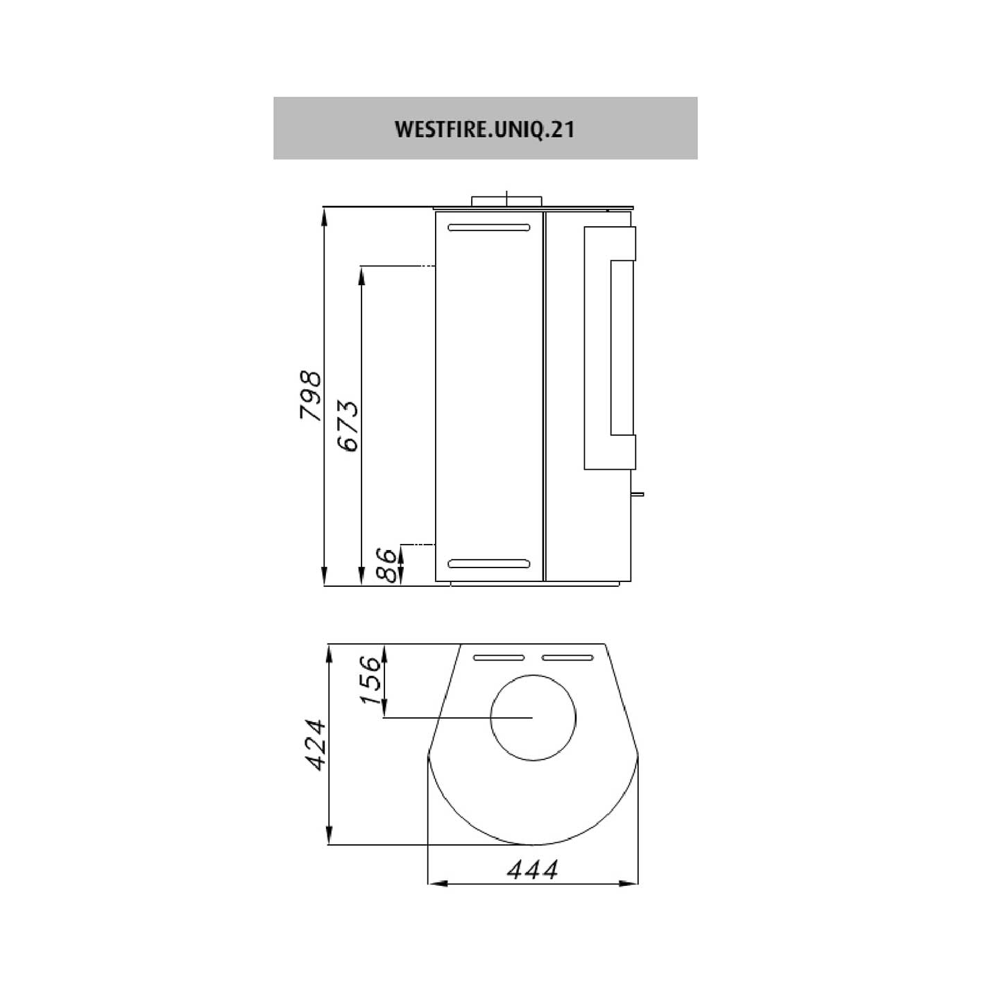 westfire uniq 21 wood burning stove the stove site approved