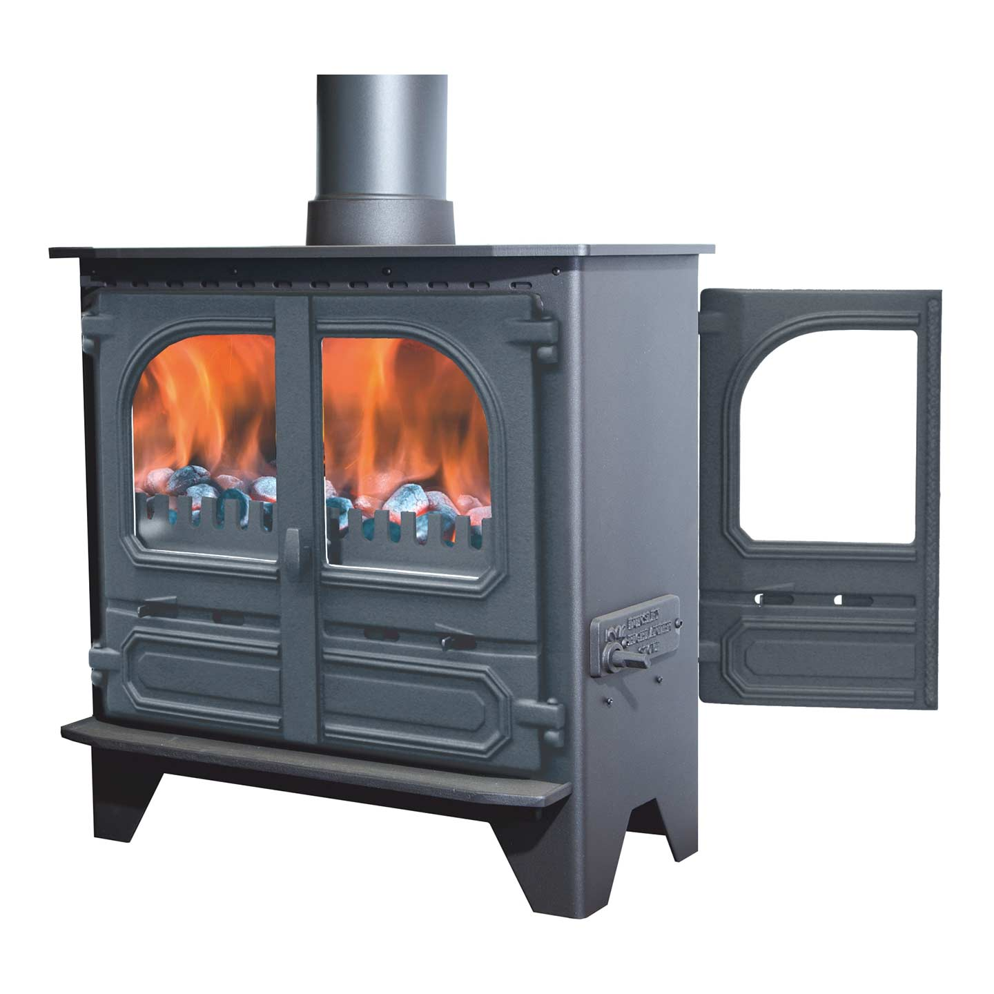 Dunsley Highlander 8 Multi Fuel Double Sided Stove