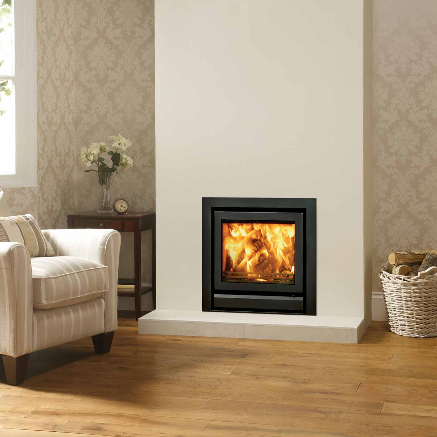Stovax Riva 50 Inset Cassette Stove Approved Dealer